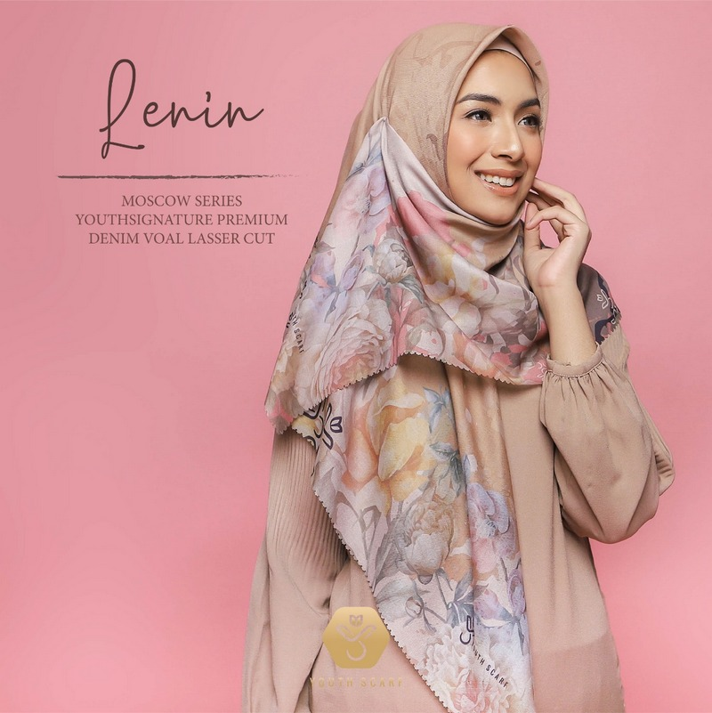 Lenin YouthScarf Signature Premium Moscow Series